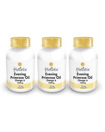 Holistix Evening Primrose Oil 1000mg 90 softgel (3Pack)