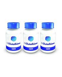 Holistix L Glutathione 50mg 30 cap (3Pack)