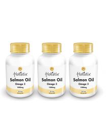 Holistix Salmon Oil 1000mg 90 softgel (3pack)