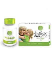 Holistix Probiotic Combo (Probiotic 60's & 10's)